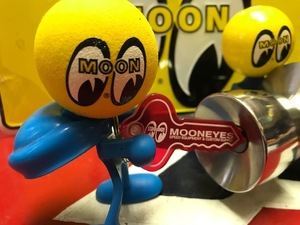 MOONEYES スピードキーリング  ムーンアイズ レッド 検索用→ムーンアイズ アンテナトッパー ユノカル76