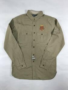 新品 13802 Mサイズ ワーク シャツ polo ralph lauren ポロ ラルフ ローレン メンズ ビンテージ