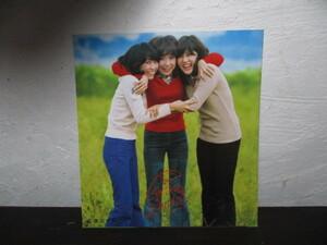 キャンディーズ プロマイド ブロマイド グラビア 写真当時物 新品 正規品 本物 サイン 色紙 70年代アイドル 切り抜き カード1