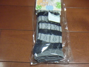 New Baby Tights Size 75 Gray × 紺 198 yen Transfer possible