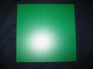 LEGO 626 レゴブロックパーツグリーンプレート基盤廃盤品