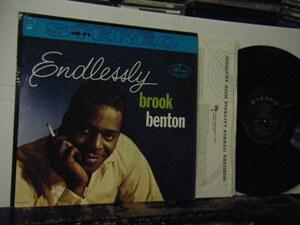 ▲LP BROOK BENTON ブルック・ベントン / ENDLESSLY 輸入盤
