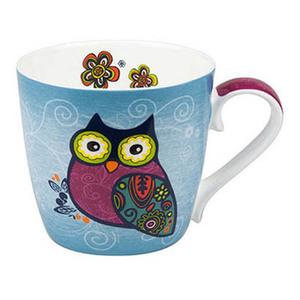 ★KONITZ Owls Blue 青いフクロウ マグカップ(102)