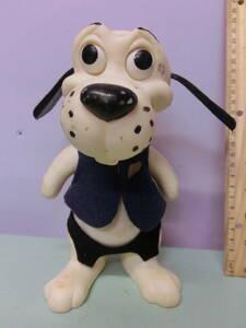 ビンテージ 1968年 犬 イヌ ソフビ フィギュア人形 バンク 貯金箱 置物◆昭和レトロ R.D.F. Dog Bank figure ビーグル 古着屋 ディスプレイ