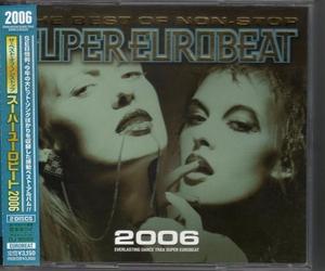 Σ ベストオブノンストップスーパーユーロビート2006/2CD/THE BEST OF NON-STOP SUPER EUROBEAT/SEB/即決