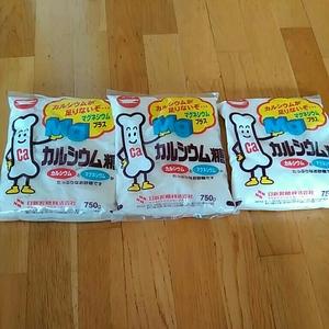 Calcium sugar + magnesium 750 g × 3