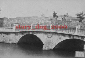 複製復刻 絵葉書/古写真 東京 常盤橋より印刷局を望む 常盤橋門跡 明治期 WA_058