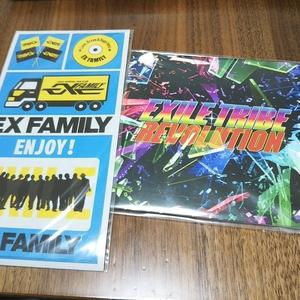 新品☆ EXILE TRIBE REVOLUTION CD ☆ファンクラブ FC限定 EX FAMILY マグネット セット