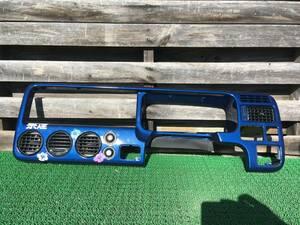 ステップワゴン RF1 ブルー 塗装 パネル 綺麗です メーター オーディオパネル AC エアコン 吹出口 トリム 内装 インパネ 6万km 禁煙車