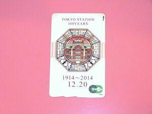 JR東日本 東京駅開業 100周年記念 Suica 台紙付き 838634AA1971Q3