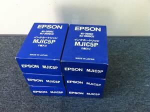 EPSON インクカートリッジ MJIC5P2個入 6箱まとめて!期限切れ MJ-3000C MJ-3000CU