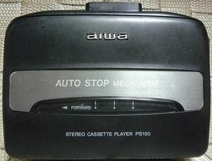 AIWA アイワ HS-PS150 ポータブルカセットプレーヤー 本体のみ ジャンク