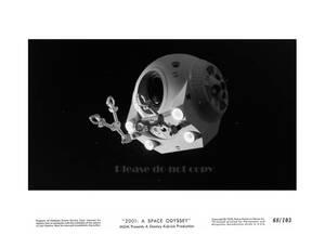 1968年映画 2001年宇宙の旅 2001: A Space Odyssey ディスカバリー号 スペースポッド キア・デュリア モノクロ ロビーカード3枚付き