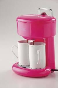 未使用◆メリート◆2カップコーヒーメーカー◆ピンク◆MM‐8763◆和平フレイズ(WAHEI FREIZ)