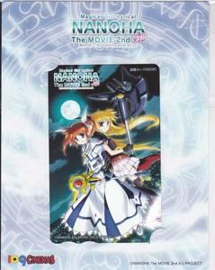 魔法少女リリカルなのはThe MOVIE 2nd A's 109シネマズ限定 図書カード 劇場オリジナルグッズ フェイト