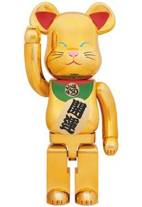ベアブリック【 東京スカイツリー ソラマチ メディコムトイ・招き猫 金メッキ 弐 2 二 1000% 】新品