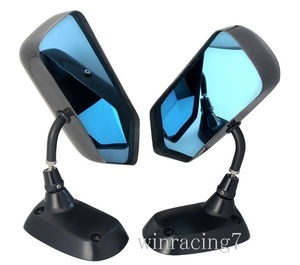 *. bargain genuine article carbon super light weight side mirror blue lens . aero for mirror RX7 FD3S FC3S Roadster NA NB NC ND
