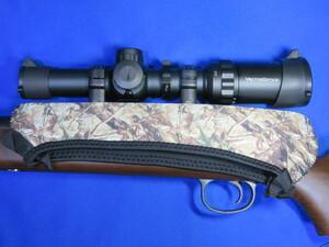 リアル迷彩 ライフルスコープカバー リバーシブル ネオプレーンB  狩猟 射撃 散弾銃 ショットガン スラッグ
