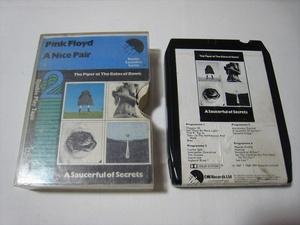 【8トラックテープ】 PINK FLOYD / A NICE PAIR UK版 箱付 ピンク・フロイド ナイス・ペアの商品画像