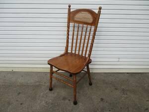 【送料確認要】y1380-1 【木製椅子 20脚】 W470×D450×H460(1100) イス 椅子 店舗用品 業務用 中古 厨房