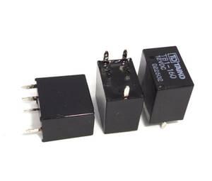 自動車電装小型リレー 12V MAX 25A通電可 1回路C接点 車載用パワーリレー 振動に強くDC6.5~18Vで安定動作 リレー ◆