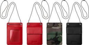 S★★★【 国内正規 / 納品書 / 新品未使用 】 supreme Leather ID Holder Walle Box Logo ウォレット Leather