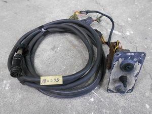 18-273 YAMAHA yamaha  Yamaha  Подвесной лодочный мотор  использование   ...  переключатель   начало  &  Стоп   блок управления  &  проводка   бывший в употреблении товар