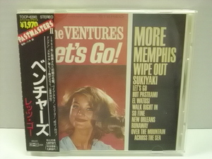 ■CD ザ・ベンチャーズ / レッツ・ゴー 帯付 THE VENTURES LET'S GO!
