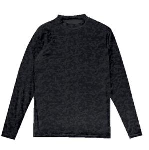 新品即決 Spazioスパッツィオ ジュニア デジカモインナーシャツ 160㎝ ブラック GE-0524-02-160