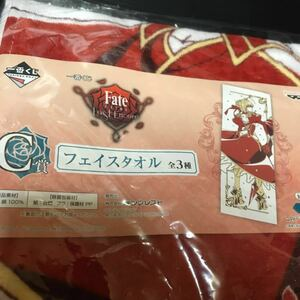 Fate / Extra Lost Encore Saber C Award Face Towel Nero Claudius Goods Fate / Grandorder FGO Fate Towel 2