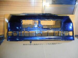 L375S/L385S タントカスタム 前期純正 フロントバンパー 52119-B2640 紺     2214