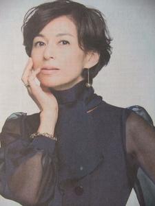鈴木保奈美 「SUITS/スーツ」 度量がある女性にしたい 地方紙 神戸新聞記事