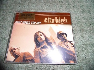 Y165 CD City High What Would You do? (X-MEN REMIX) 2001 Overseas Version (Import) Edition There is no noticeable scratch. X Men
