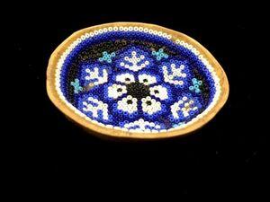 インディアンジュエリー 祭り ズニ族 ナバホ族 ネイティブアメリカンによるハンドメイド ビンテージ 小物入れ ビーズ ※取れ有り