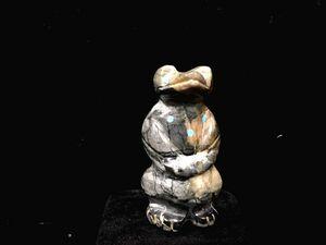 フェティッシュ 物神 インディアン ズニ族 ナバホ族 ネイティブアメリカン ビンテージ 置物 ターコイズ トルコ石 動物モチーフ お守 癒 ②