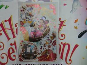 即決♪新品未使用♪東京ディズニーシー 17周年記念 ハロウィン 2018 ポストカード♪ハロウィーン TDR TDL35周年 TDS