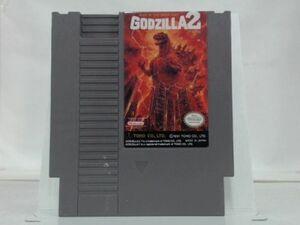 海外限定版 海外版 ファミコン ゴジラ2 GODZILLA 2 WAR OF THE MONSTERS NES