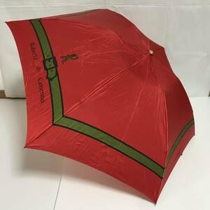 い081129 中古 Roberta di Camerino ロベルタディカメリーノ 雨傘 折りたたみ傘 女性用