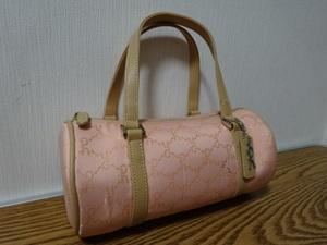 ■訳有 Roberta di Camerino ロベルタディカメリーノ 光沢Rロゴが可愛い ミニサイズ ボストンバッグ ハンドバッグ トートバッグ BAG 鞄