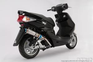 新品 BEAMS ビームス  R-EVO チタンサイレンサー  シグナス X Fi  SE44J /国内モデル  B220-53-007