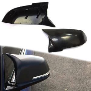 BMW 1~4シリーズ M4ルック 交換式ドアミラーカバー ABS製 素地(黒) F20 F21 F22 F23 F87 F30 F31 F34 F32 F33 F36 E84