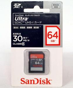 【64GB】SDXCカード <CLASS 6> UHS-I対応 30MB/s【即決】サンディスク SanDisk SDSDH-064G-J35★4523052008450 新品