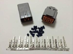 送料無料有  住友電装 090型 2.3mm DL防水カプラー コネクター 10極 端子