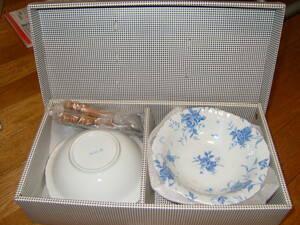 食器 器 うつわ 陶器 デザートカップ と スプーン  セット 箱入り