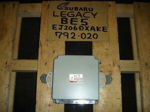 Legacy  * GF-BE5 * EJ20-DETT/792/ двигатель  контроль  компьютер  * 22611-AF181 *  * 77736km *  Инспекция уже !!(' * ')