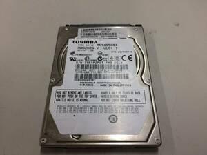 中古品 TOSHIBA 2.5インチHDD 160GB S-ATA接続 現状品③
