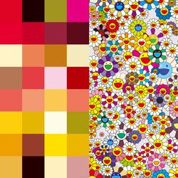 【真作保証】村上隆☆ポスター☆アキパンクチャー・フラワーズ☆限定300枚☆Takashi Murakami Edition poster kaikai kiki
