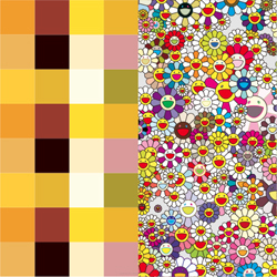 【真作保証】村上隆☆ポスター☆アキパンクチャー・フラワーズ(チェッカーズ)☆限定300枚☆Takashi Murakami Edition poster kaikai kiki
