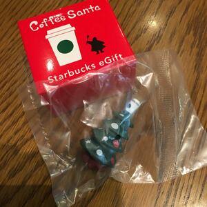 送料120円 新品 スターバックス コーヒーサンタ ツリー 未開封 クリスマスツリー スタバ タンブラー 非売品 オーナメント eギフト