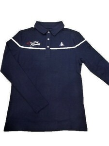 ルコックゴルフ le coq sportif GOLF ゴルフ メンズウェア 秋冬モデル 吸湿発熱 長袖ポロシャツ 40%OFF!!ブループリント(L寸)